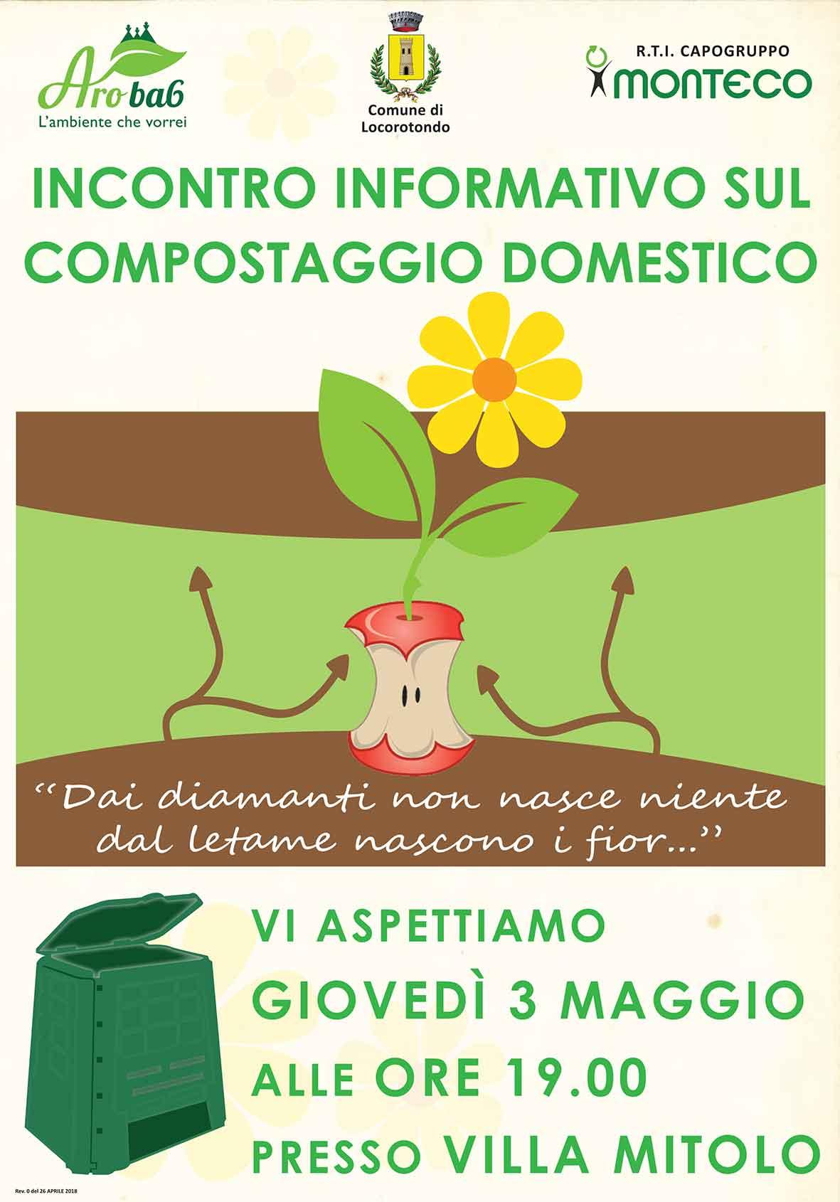 incontro informativo sul compostaggio domestico