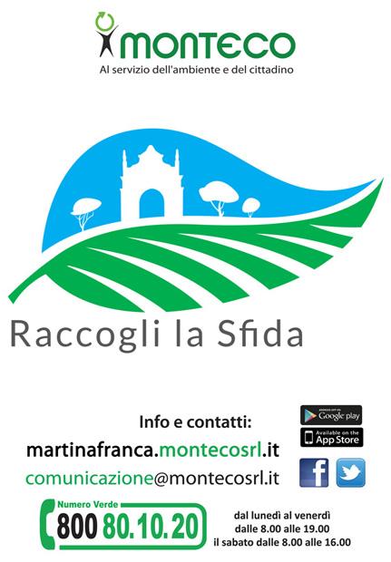 Martina Franca. Nuovo servizio di raccolta rifiuti nell'Agro. Si parte!